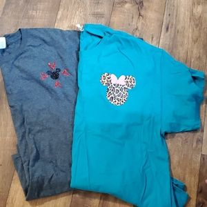 Bundle of 3x women's Mickey Mouse tshirts